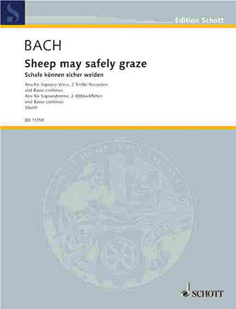 Product Cover for Sheep May Safely Graze (BWV 208)