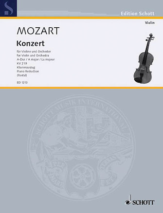 Product Cover for Violin Concerto 5 A Major K. 219