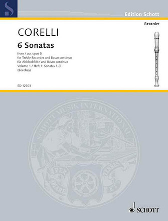 Product Cover for 6 Sonatas from Op. 5 – Volume 1