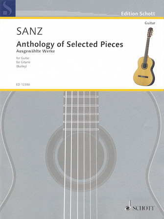 Product Cover for Anthology of Selected Pieces for Guitar