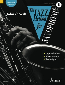 Product Cover for The Jazz Method for Tenor Saxophone