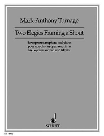 Product Cover for Two Elegies Framing a Shout
