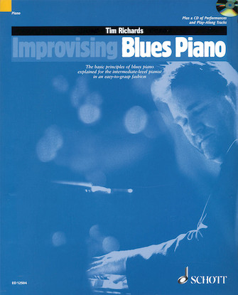 Product Cover for Improvising Blues Piano