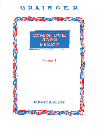 Product Cover for Music for Solo Piano – Volume 1