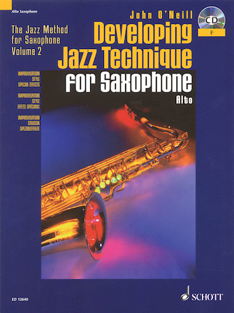 Product Cover for Developing Jazz Technique – Volume 2
