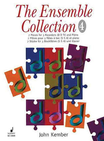 Product Cover for The Ensemble Collection – 7 Pieces for 3 Recorders & Piano