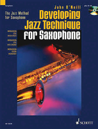 Product Cover for Developing Jazz Technique for Saxophone