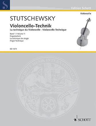 Product Cover for Cello Method – Volume 1 Finger Technique