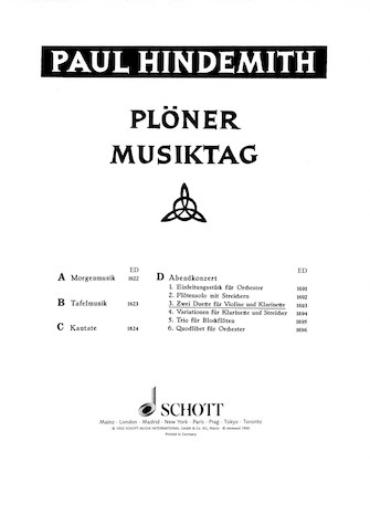 Product Cover for Plöner Musiktag – The Evening Concert