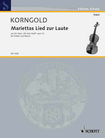 Product Cover for Marietta's Lied from Die Tote Stadt Op. 12