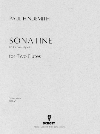 Product Cover for Canonic Sonatina, Op. 31, No. 3 (1923)