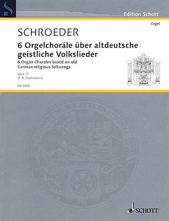 Product Cover for 6 Chorales Op. 11