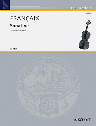 Product Cover for Sonatine Violin/piano