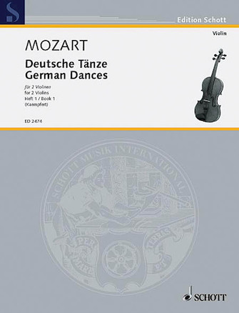 Product Cover for German Dances Vol. 1
