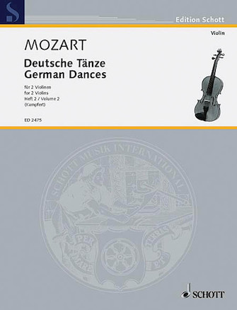 Product Cover for German Dances Vol. 2