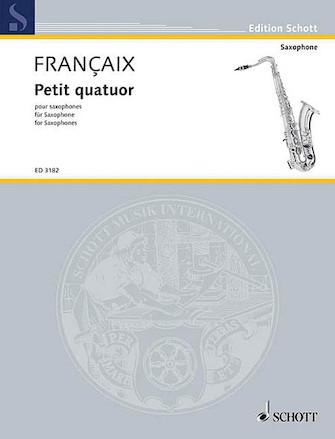 Product Cover for Petit Quatuor pour Saxophones
