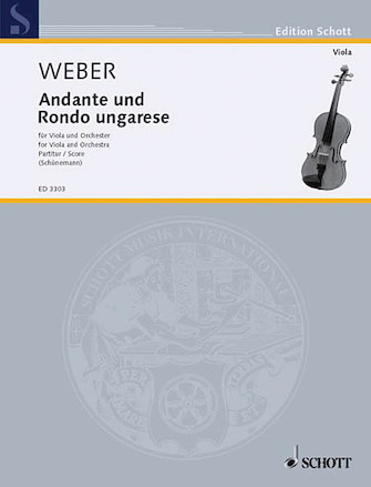 Product Cover for Andante and Hungarian Rondo Op. 35