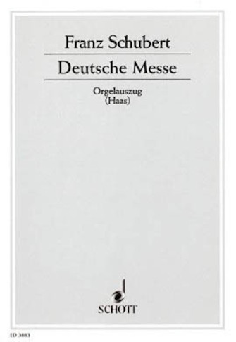 Product Cover for German Mass