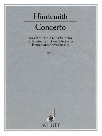 Product Cover for Clarinet Concerto