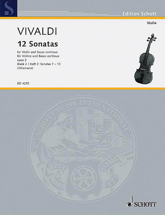 Product Cover for 12 Sonatas, Op. 2 – Book 2