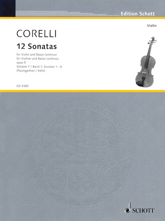 Product Cover for 12 Sonatas, Op. 5 – Volume 1