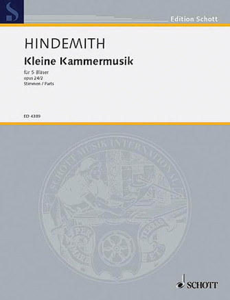 Product Cover for Kleine Kammermusik, Op. 24, No. 2