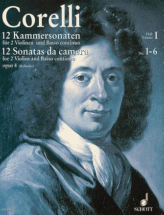 Product Cover for 12 Chamber Sonatas, Op. 4 – Volume 1