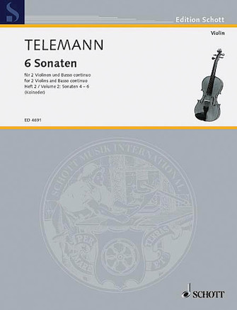 Product Cover for 6 Sonatas – Vol. 2:4-6