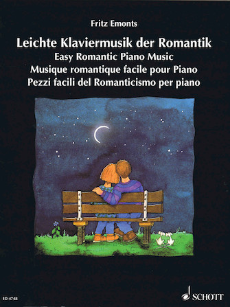 Product Cover for Easy Romantic Piano Music – Volume 1