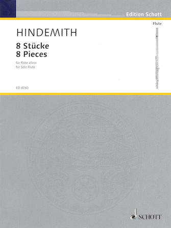 Product Cover for 8 Pieces for Flute (1927)