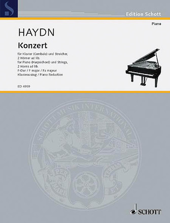 Product Cover for Piano Concerto F Major