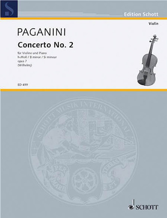 Product Cover for Concerto No. 2, Op. 7 in B Minor