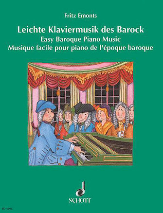 Product Cover for Easy Baroque Piano Music