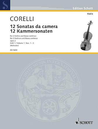 Product Cover for 12 Trio Sonatas Op. 2, Nos. 1-3