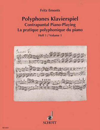 Product Cover for Contrapuntal Piano Playing