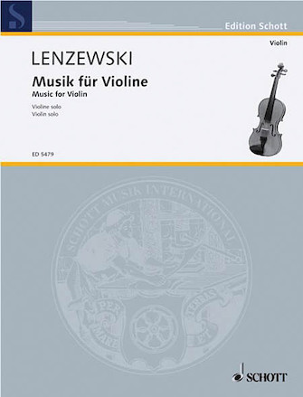 Product Cover for Musik Fur Violine Solo