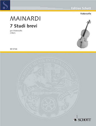Product Cover for Short Studies 7 Cello