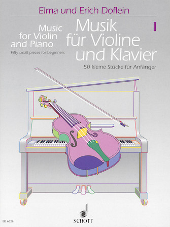 Product Cover for Music for Violin and Piano – Volume 1