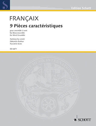 Product Cover for 9 Pieces Caracteristiques