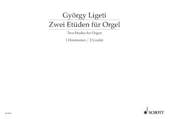 Product Cover for Organ Etudes 1 and 2