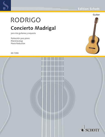 Product Cover for Concierto Madrigal