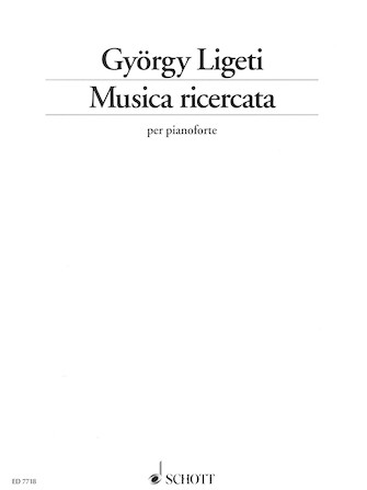 Product Cover for Musica ricercata