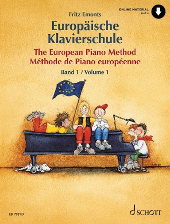 Product Cover for The European Piano Method – Volume 1