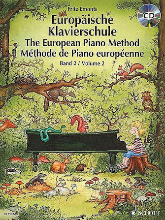 Product Cover for The European Piano Method – Volume 2