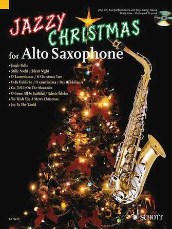 Product Cover for Jazzy Christmas for Alto Saxophone