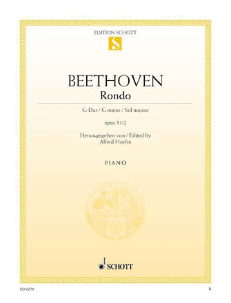 Product Cover for Rondo in G Major, Op. 51, No. 2
