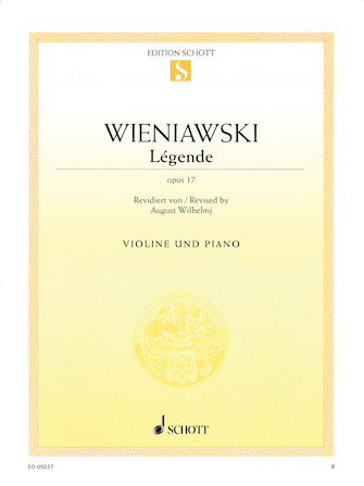 Product Cover for Légende, Op. 17