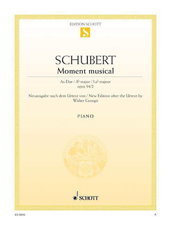 Product Cover for Moment Musicaux No. 2 in A-flat Major, Op. 94, D 780