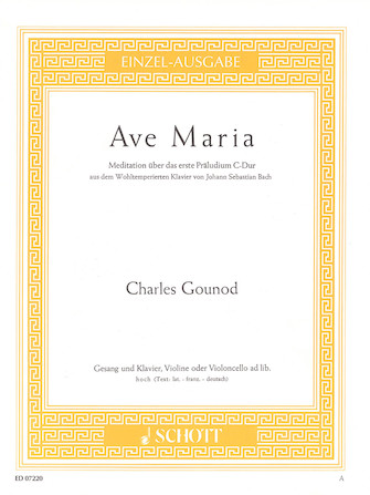 Product Cover for Ave Maria (1854)