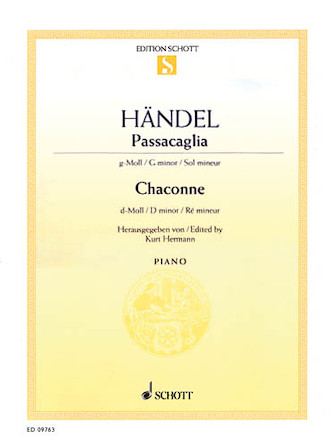 Product Cover for Passacaglia in G Minor and Chaconne in D Minor
